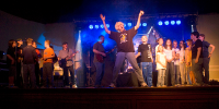 Apoligetix concert in Farmer City hosted by Outreach Ministries