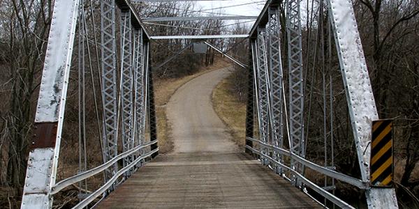 Swisher Bridge in Central Illinois