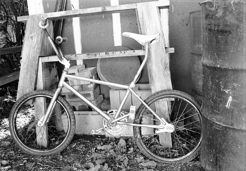 A old bike in a hidden corner