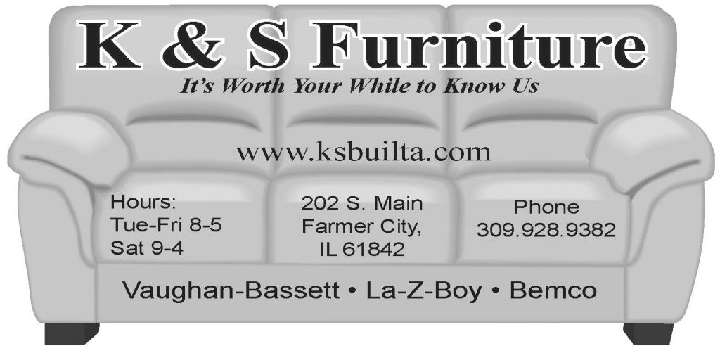Business Card for K&S Furniture-fun version