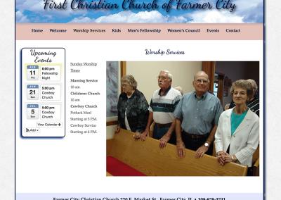 Farmer City Christian Church Worship Service