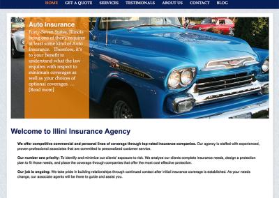 Illini Insurance home page