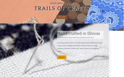 Trails of Crafts Website